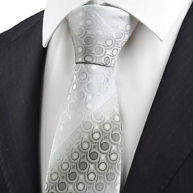 Krawatte(Grau,Polyester)Punkte