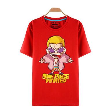 Inspiriert von One Piece Roronoa Zoro Anime Cosplay Kostüme Cosplay-T-Shirt Druck Kurzarm Top Für Herrn Damen