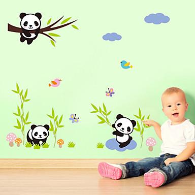 Piirretty Muoti Wall Tarrat Lentokone-seinätarrat Koriste-seinätarrat materiaali Irroitettava Kodinsisustus Seinätarra