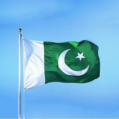 pakistan flag banner gratis frakt henger flagg pakistan hjem dekorasjon flagg (uten flaggstang)