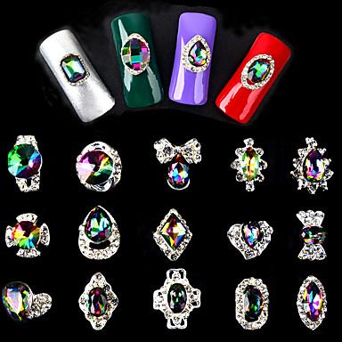 5 מסמר תכשיטים מופשט (אבסטרקטי) אופנתי איכות גבוהה יומי