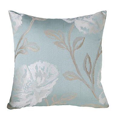 1 Stk. Polyester Pudebetræk, Blomstret Traditionel