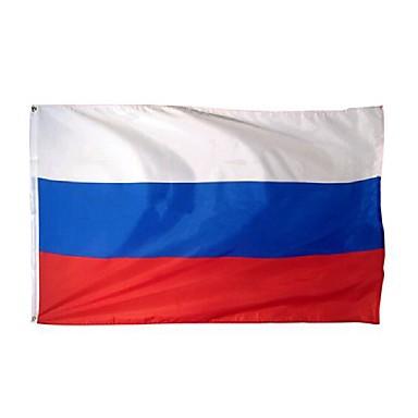 neue große 3x5 Füße russische Flagge Polyester der Russland nationale Banner Hauptdekor (kein flagpole)