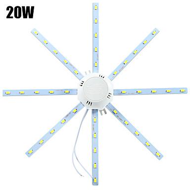ywxlight® led katto valot 40 smd 5730 1600-1920 lm kylmä valkoinen 6000-6500 k koristeellinen 220-240 v