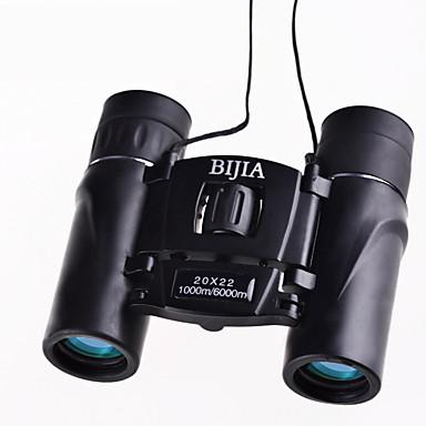abordables Monoculaires, Jumelles & Télescopes-Bijia 20 X 22 mm Jumelles Imperméable Haute Définition Générique Entièrement  Multi-traitées BAK4 Plastique Caoutchouc Métal / Chasse / Observation d'Oiseaux / Vision nocturne