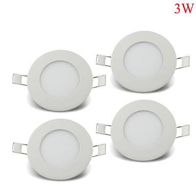 3W Instrumententafel-Leuchten 15pcs SMD 2835 220-260lm lm Warmes Weiß / Kühles Weiß / Natürliches Weiß Dekorativ AC 85-265 V 4 Stück