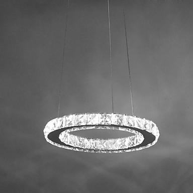 Pendelleuchten ,  Zeitgenössisch Chrom Eigenschaft for Kristall LED Metall Wohnzimmer Schlafzimmer Esszimmer Studierzimmer/Büro