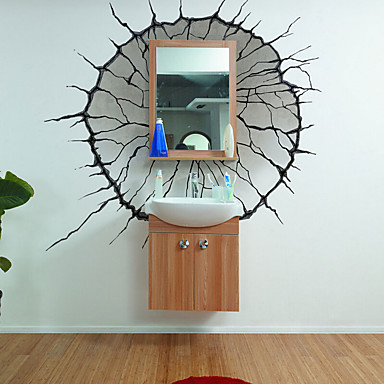 Dekorative Wand Sticker - 3D Wand Sticker Worte & Zitate Wohnzimmer / Schlafzimmer / Esszimmer / Abziehbar