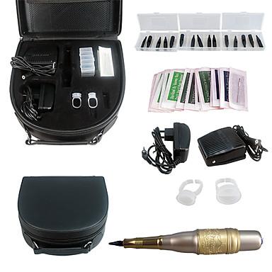 קעקוע solong מכונת שפות גבהו עט איפור קבוע קעקוע הערכה להגדיר ek702-4