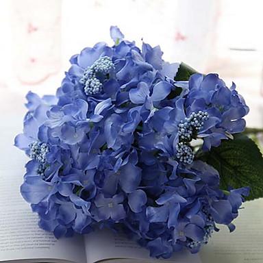 분기 실크 수국 테이블  플라워 인공 꽃