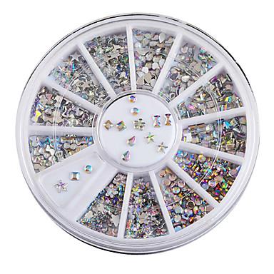 a tendência de acrílico jóias manicure DIY adesivos de unhas
