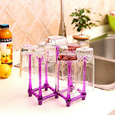 faltbare Tasse Rotweinglas Halterträger zufällige Farbe Einhängegestell
