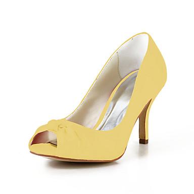 Rose Ivoire Mariage Satin Talon Femme Aiguille 00648214 Printemps Elastique Chaussures Champagne Eté Satin xwv8Z8fUq