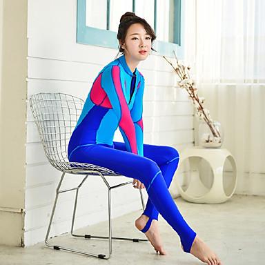 Damen Diveskin-Anzug Wasserdicht UV-resistant Handyhülle für das ganze Handy Tactel Langarm Schutz gegen Hautausschlag Tauchen