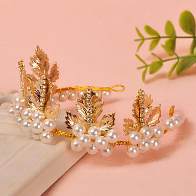 Damen Strass Künstliche Perle Kopfschmuck-Hochzeit Besondere Anlässe Stirnbänder 1 Stück
