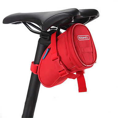 ROSWHEEL תיק אופניים תיקי אוכף לאופניים עמיד למים לביש עמיד לזעזועים רב תכליתי תיק אופניים PVC 600D פוליאסטר תיק אופניים רכיבה על אופניים