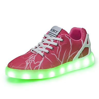 Sko-Denim-Flat hæl-Rund tå-Trendy sneakers-Friluft / Fritid / Sport-Rosa