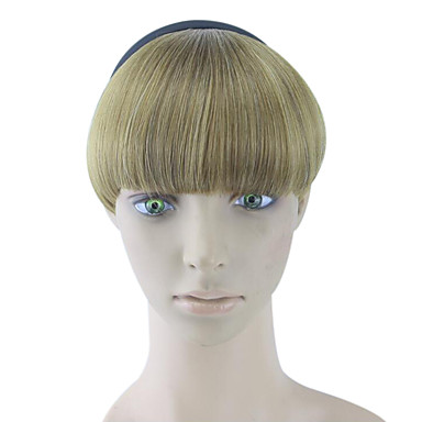 cabelo humano Kinky ouro encaracolado tece chignons 2005