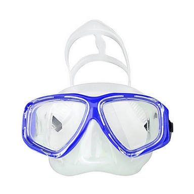 Snorkelmaske / Svømmebriller Vanntett To-Vinduer - Svømming, Dykking Silikon, Glassfiber - til Voksne Gul / Blå / Rosa