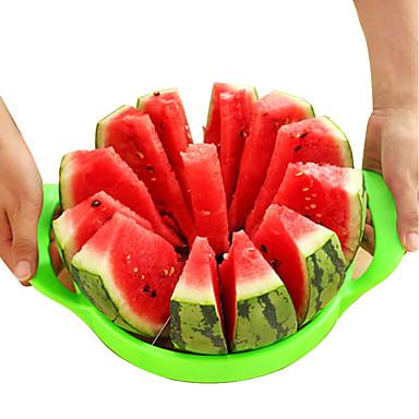 Multifunktions-Obstschneider aus Edelstahl / Kantalupenhobel / Wassermelonenschnitt