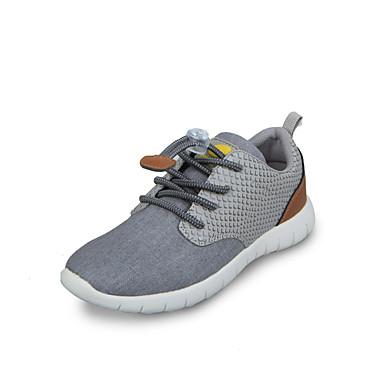 (Blå) -Komfort / Rund tå / Lukket tå-Trendy sneakers-Lær / Twill / Denim / PU- CBOY