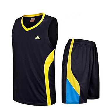 andre menns ermeløs fritidssport / badminton / basketball / kjører klær sett / rask tørr /