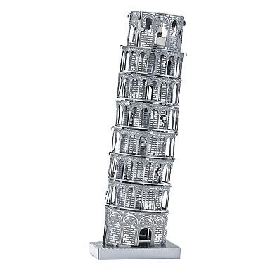 voordelige 3D-puzzels-3D-puzzels Houten puzzels Metalen puzzels Scheve toren van Pisa Metaal Jongens Meisjes Speeltjes Geschenk