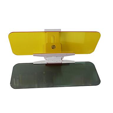 2 pcs 33 * 10 * 0,15 centímetros dia acrílico e noite de dupla utilização do carro pára-sol espelho anti-reflexo goggle