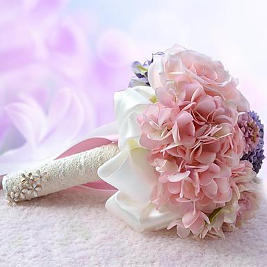 פרחי חתונה זרים חתונה מסיבה\אירוע ערב פרחים מיובשים פּוֹלִיאֶסטֶר מֶשִׁי קֶצֶף 10.63