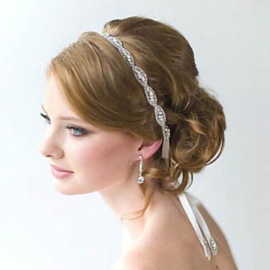 total de cristal flor artesanal fita de cetim rendas até cabeça para a festa de casamento de cabelo da senhora jóias
