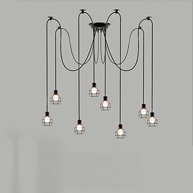 Retro Kronleuchter Für Wohnzimmer Schlafzimmer Küche Esszimmer Studierzimmer/Büro Glühbirne nicht inklusive