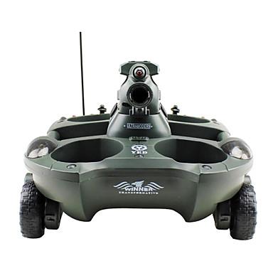 24883 Tanque Carro com CR Pronto a usar Controle Remoto Tanque Bateria Para Carro Carregador De Bateria Manual Do Usuário