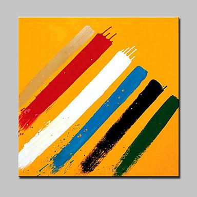 lager kézzel festett modern absztrakt olajfestmény vásznon fal művészeti képet otthoni pünkösd keret készen akasztani