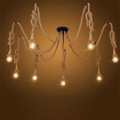 CXYlight 8-luz Luzes Pingente Luz Ambiente - Estilo Mini, 110-120V / 220-240V Lâmpada Não Incluída / 20-30㎡ / E26 / E27
