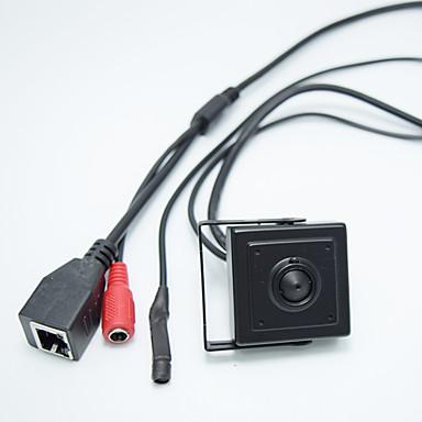 hd 1.0mp onvif h.264 p2p mobil overvåkning cctv mini ip kamera 2.8mm pinhole lens skjul kamera