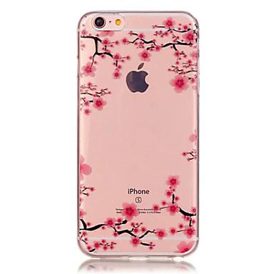 מגן עבור Apple iPhone X iPhone 8 iPhone 6 iPhone 6 Plus שקוף תבנית כיסוי אחורי פרח רך TPU ל iPhone X iPhone 8 Plus iPhone 8 iPhone 7 Plus
