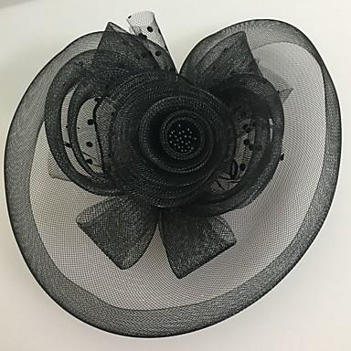 tulle net fascinators headpiece esküvői party elegáns női stílusban