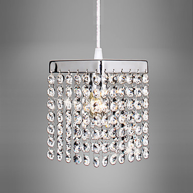 CXYlight Mini Anheng Lys Omgivelseslys galvanisert Krystall Krystall, Mini Stil, LED 110-120V / 220-240V Pære ikke Inkludert / 5-10㎡ / E12 / E14