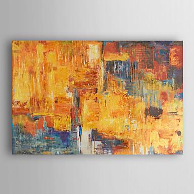 handgemaltes Ölgemälde abstrakte Sonnenuntergang mit gestreckten Rahmen 7 Wand ARTS®