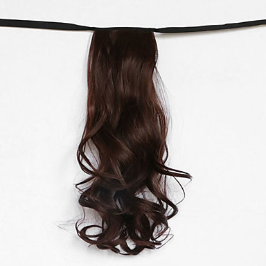 ערמוני מי גל קוקו פאת שיער סוג התחבושת סינטטי חום (צבע 33)
