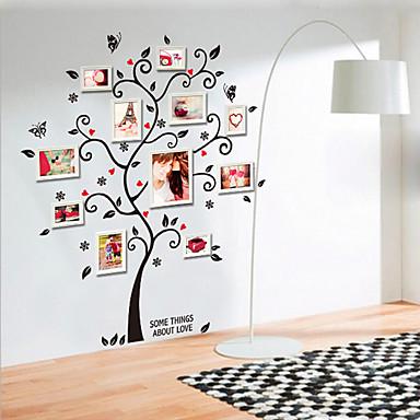 Dekorative Mur Klistermærker - Fly vægklistermærker Still Life / Mote / Botanisk Stue / Soverom / Spisestue / Kan fjernes