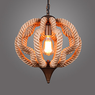 מנורות תלויות ,  וינטאג' אחרים מאפיין for סגנון קטן מתכת חדר שינה חדר אוכל מטבח חדר עבודה / משרד חדר ילדים כניסה חדר משחקים מסדרון מוסך