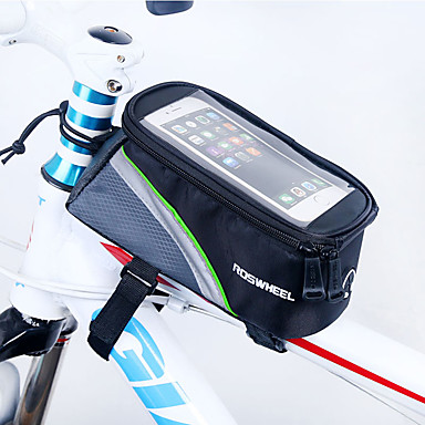 ROSWHEEL Bolsa Celular / Bolsa para Quadro de Bicicleta 4.8 polegada Sensível ao Toque Ciclismo para iPhone 8/7/6S/6 / Zíper á Prova-de-Água