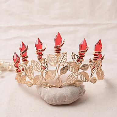 בגדי ריקוד נשים אבן נוצצת סגסוגת כיסוי ראש-חתונה אירוע מיוחד נזרים חלק 1