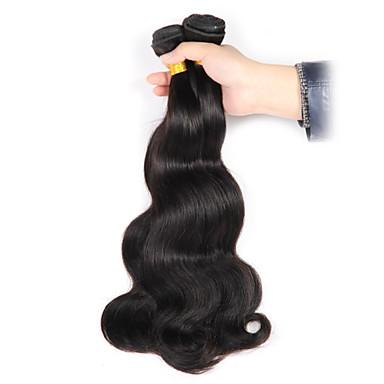 Cabelo Brasileiro Onda de Corpo Tramas de cabelo humano 3 Peças 0.35