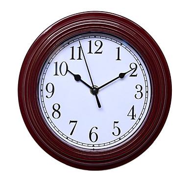 Kreisförmig Modern/Zeitgenössisch Wanduhr,Anderen Kunststoff 22.8*22.8*4.4