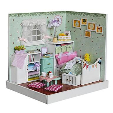 O Mágico de Oz handmade cena casa modelo cabana montados DIY com luzes ideias do presente do divertimento chi