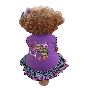 Hund Kleider Hundekleidung Herz Tier Purpur Baumwolle Kostüm Für Haustiere