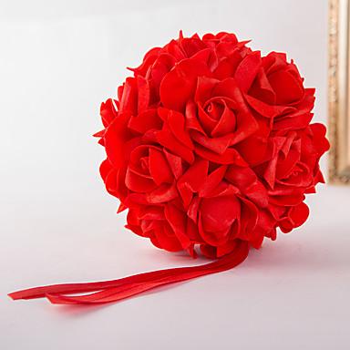 Bryllupsblomster Buketter Andre Dekorasjoner Bryllup Fest / aften Materiale Elastisk sateng 0-20cm