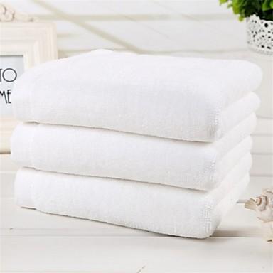 2pc pakke luksus fullt bomull badehåndkle super myk 27,5